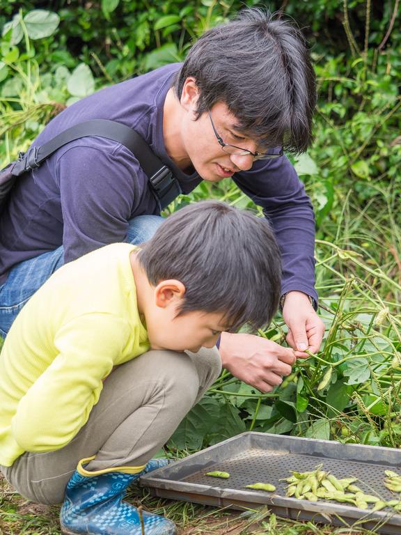 山田農場の一年・十月(枝豆の会)12