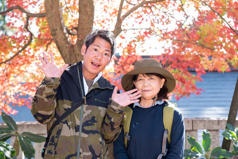 高尾山紅葉ハイキング2020_8