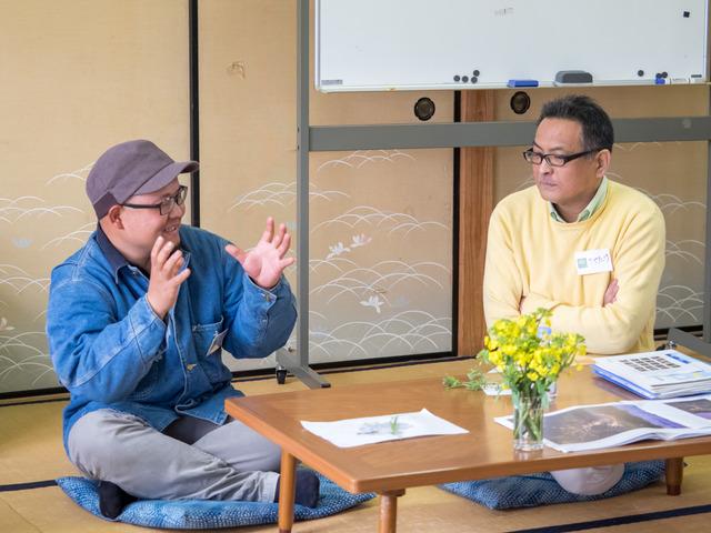 喜屋武さんと山田さん対談