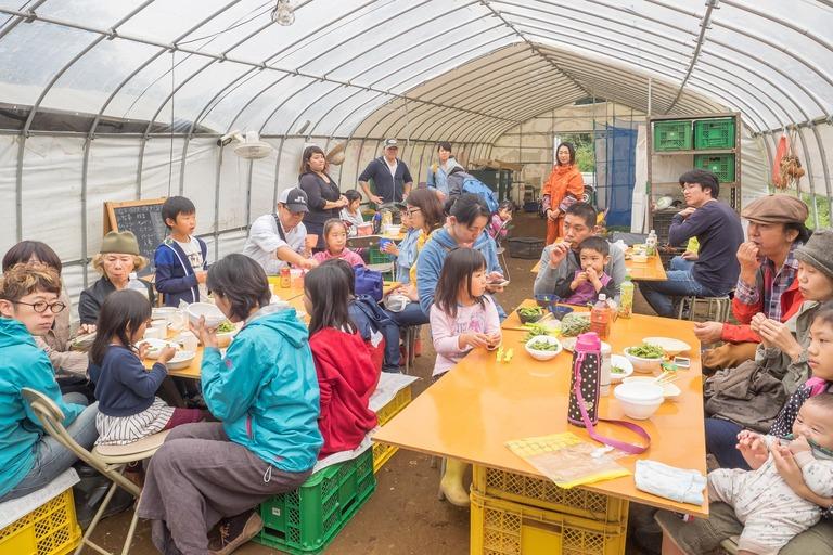 山田農場の一年・十月(枝豆の会)25