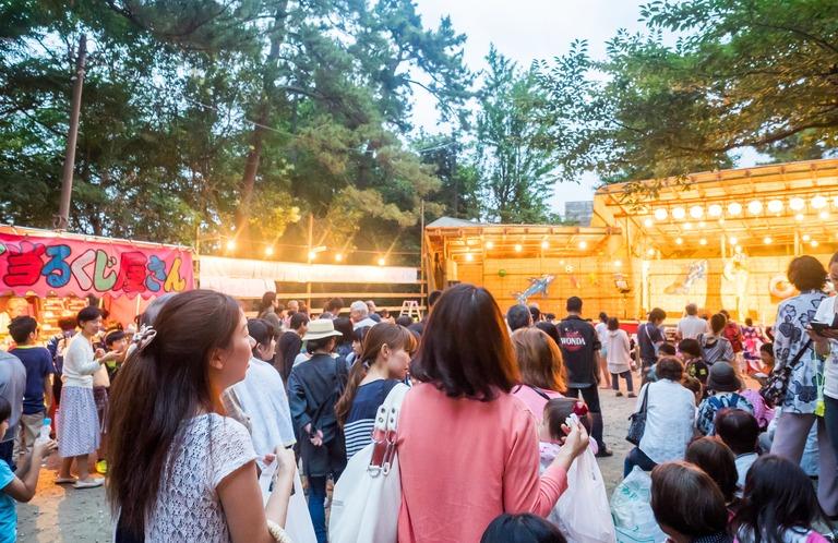 山野浅間神社の祭礼20150630-2