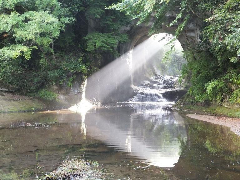 君津市役所撮影・濃溝の滝