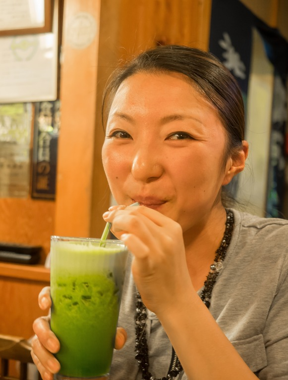 小松菜ジュース(スムージー風)