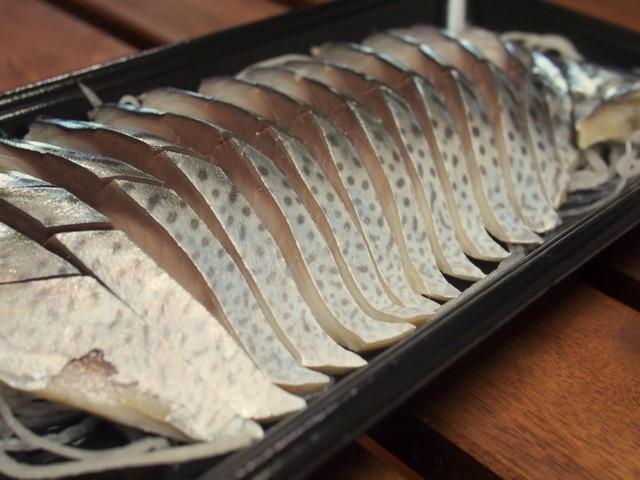 魚鈴の〆鯖①