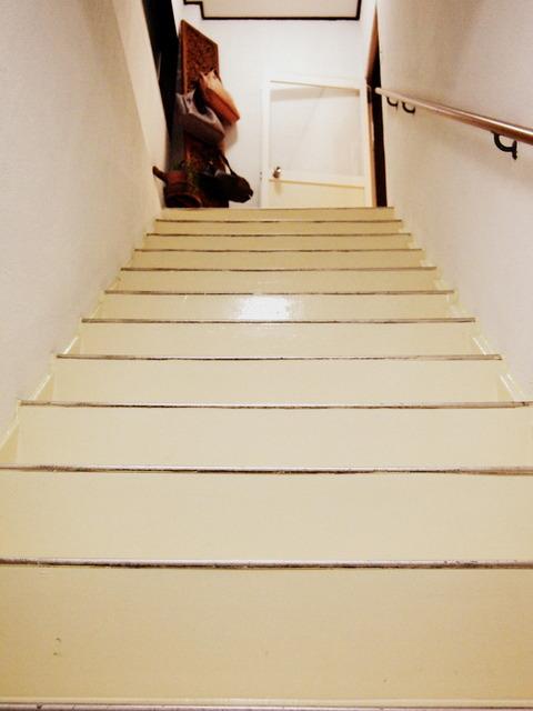 中山工房の階段