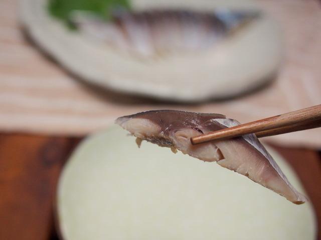 魚鈴の〆鯖③