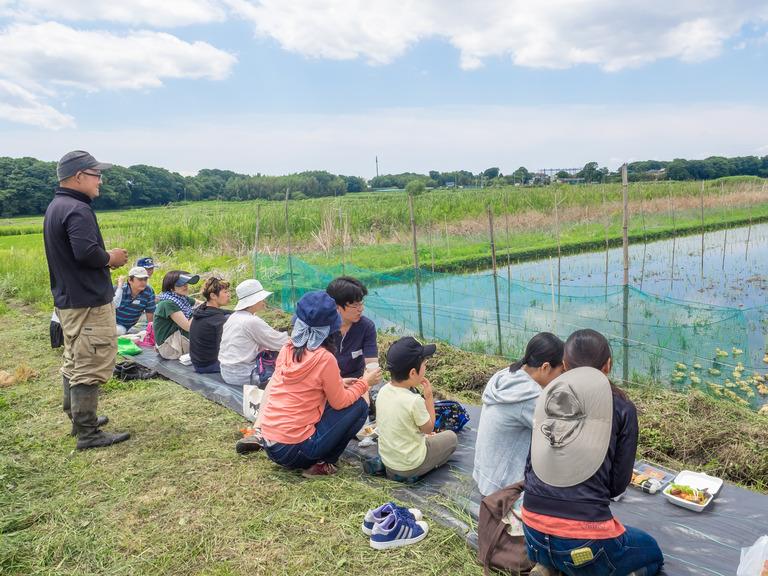 山田農場の一年・六月(参加者の皆さん-4)