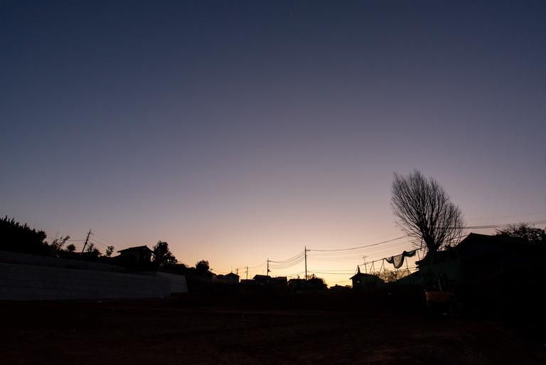 船橋市_冬の朝焼け_3