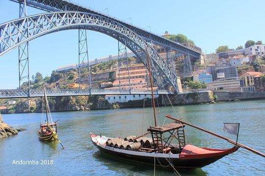 ポルトガル ポルト ドウロ川 旅行 (1)