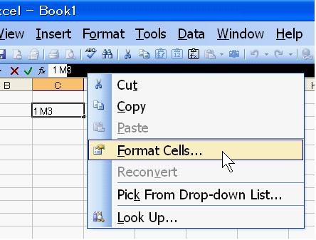 Andrew S Excel Tips Superscript And Subscript