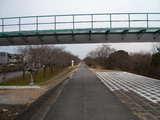 拝島水道橋付近