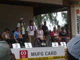 車椅子の部表彰式
