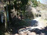 湖尻峠への分岐