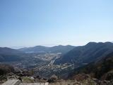 金時山から仙石原と芦ノ湖