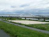 江北橋と五色桜大橋