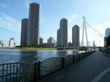 リバーシティと中央大橋