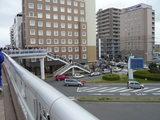 (当日8:20頃)土浦駅前