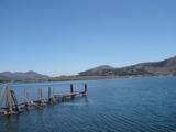 深良水門から湖畔を