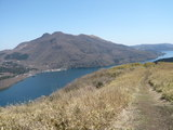 芦ノ湖を見下ろす