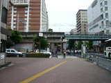西台駅(7時30分ごろ)