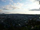 釣山公園から一関市市街