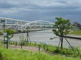 隅田川と豊島橋