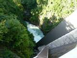 相俣ダムから見下ろす