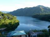 赤谷湖(ホテルより)