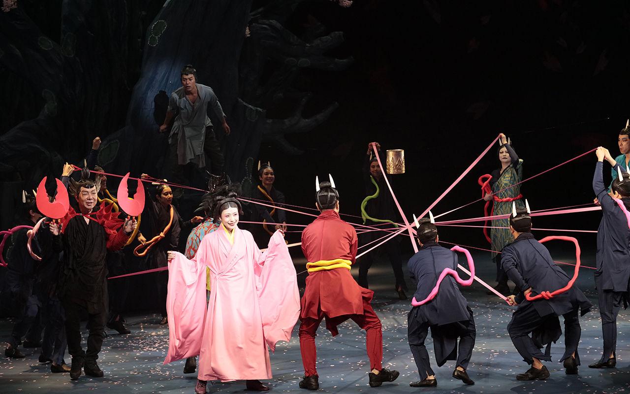 ★★0790「贋作 桜の森の満開の下」夜長姫とひも処理済み
