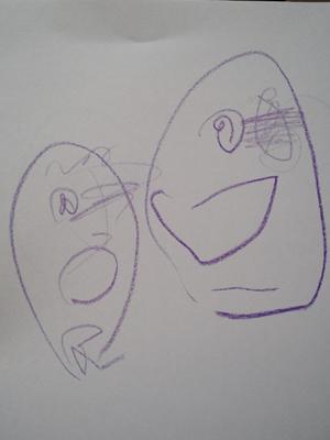 姉ちゃんは育児中-お絵かき03