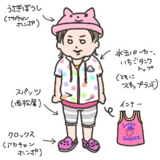 姉ちゃんは育児中-メイ子の洋服01