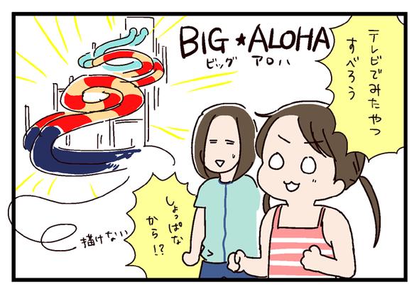 ハワイアンズ旅行レポ① ~BIG ALOHAに挑戦~