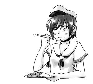 水蜜カレー。