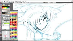 ぬえ正描けないのは辛いのですが。