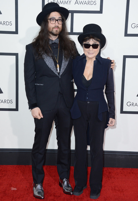 music-grammy-awards-2014-30-sean-lennon-yoko-ono