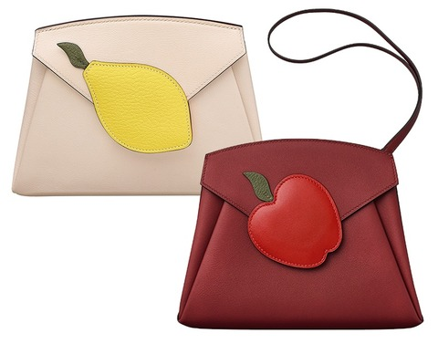 Hermes-Beige-and-Red-Tutti-Frutti-Hermail-Clutch-Bags