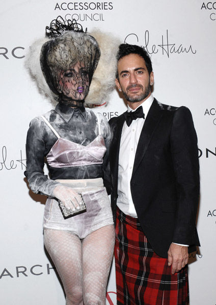 Lady-Gaga-13th-Annual-2009-ACE-Awards-with-Marc-Jacobs