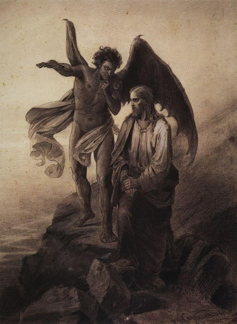 temptation-of-christ-1872 vasily surikov