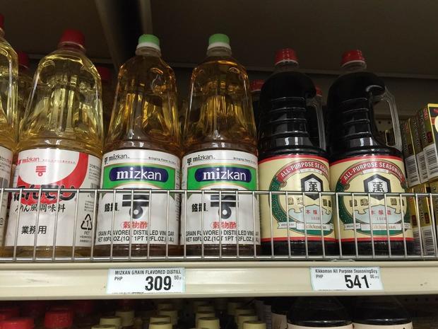 フィリピン物価 日本の調味料 (1)