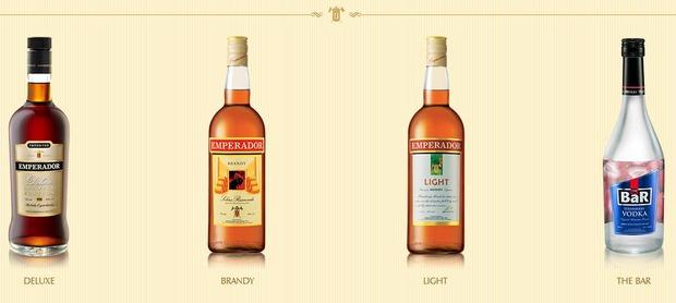 Emperador-brandy