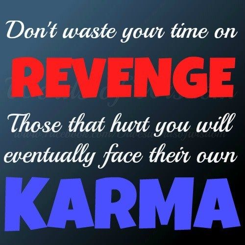 karma-revenge