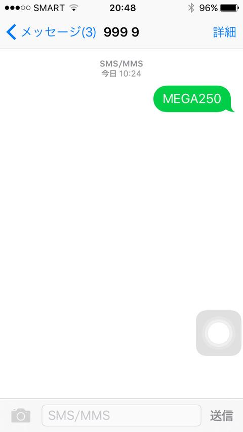 MEGA250 9999