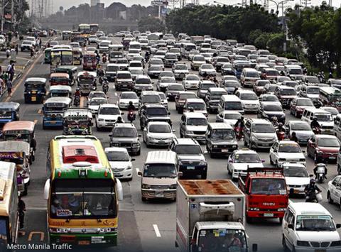 マニラ渋滞