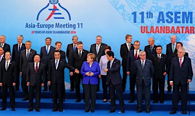 アジア欧州会議(ASEM)モンゴル2016