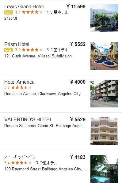 angeles city hotel