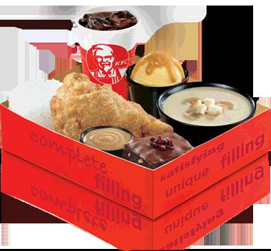 KFC lunchbox