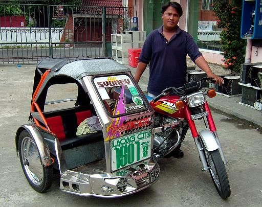 traysikel philippines