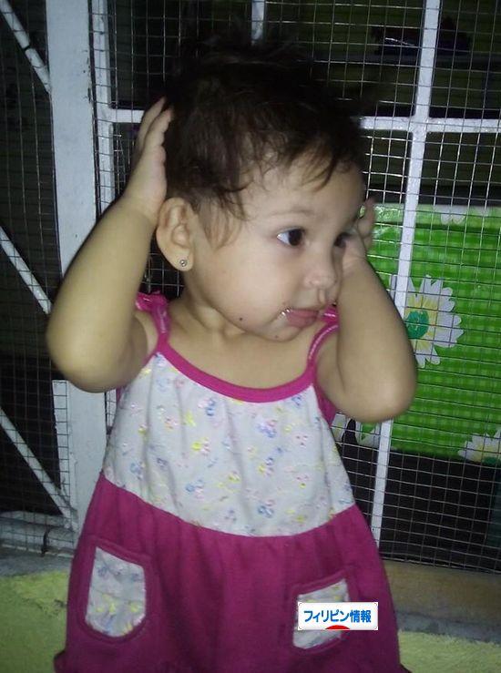 赤ちゃんにピアス (1)
