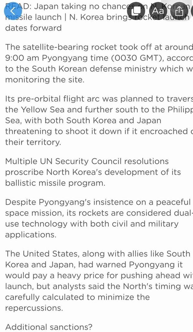 北朝鮮ミサイル (3)