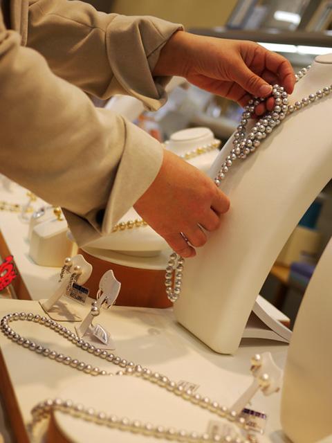 パール真珠フェア設営写真2